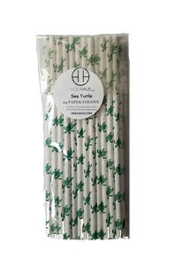 Sea Turtle Paper Straws