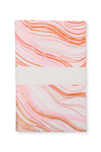 Pink Wood Grain Printed Journal