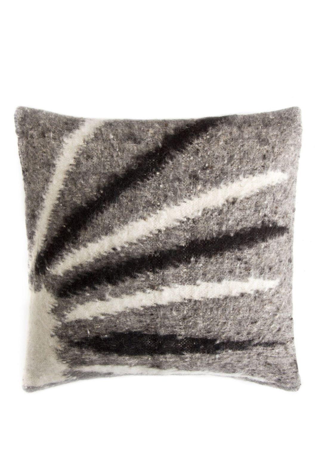 Momosteco Wool Lines Pillow