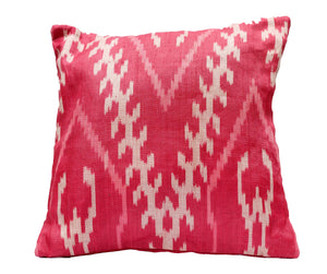 V for Victory Abaca Pillow