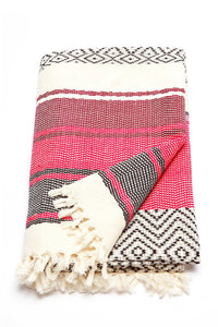 Rose Ixchel Beach Blanket