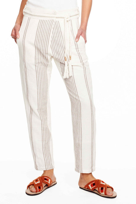 Ael Cream Stripe Pants