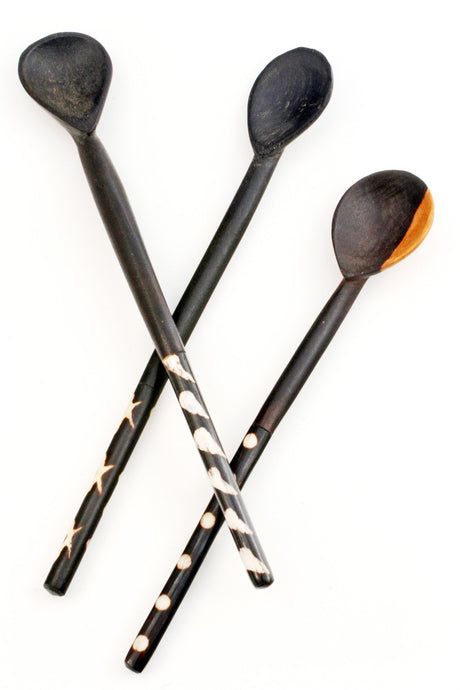 Blackwood and Bone Spoon Set