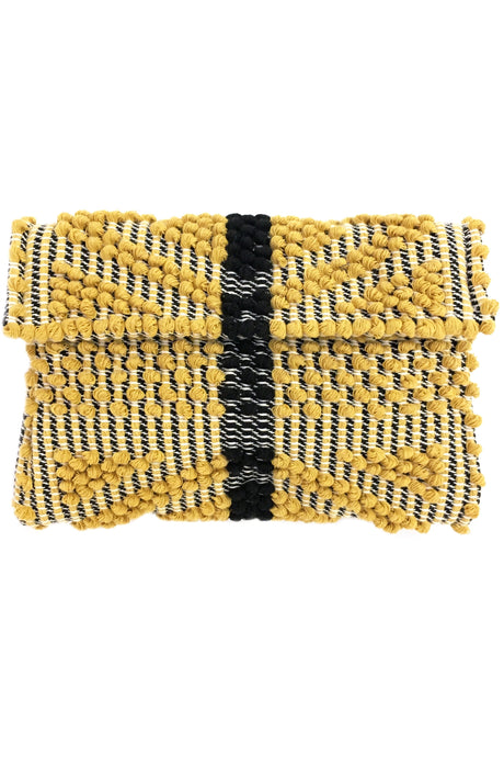 Suni Rombi Yellow Clutch