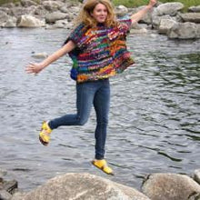 Artfully Yours Poncho EASY Knit Pattern