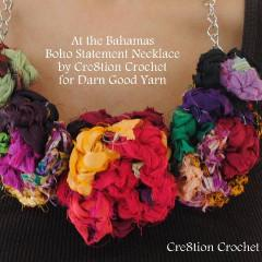Boho Chic Statement Necklace and Flowers Kit