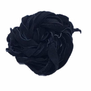 Recycled Suede Ribbon -Black