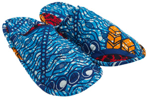 African Under the Sea Slippers (Uni-sex)