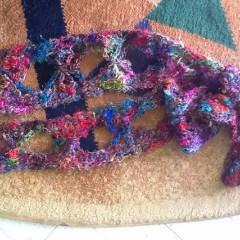 Butterfly Scarf Easy Crochet Pattern