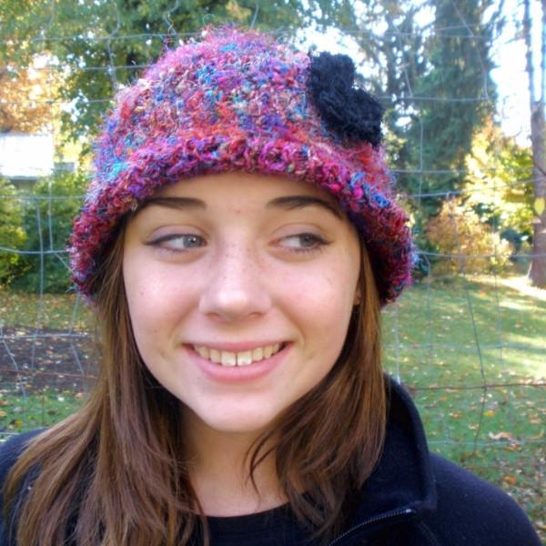Crochet This! Darn Good Yarn Random Stitch Tam/Cloche Pattern