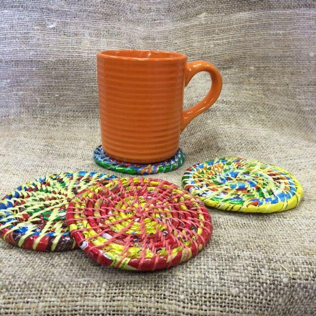 Home Decor Coaster set - Handmade in Nepal