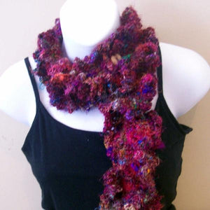 Crochet: Sari Silk Cowl with Buttons Pattern By Chriss!