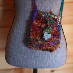 """Cut Short"" Purse  Knit Pattern"