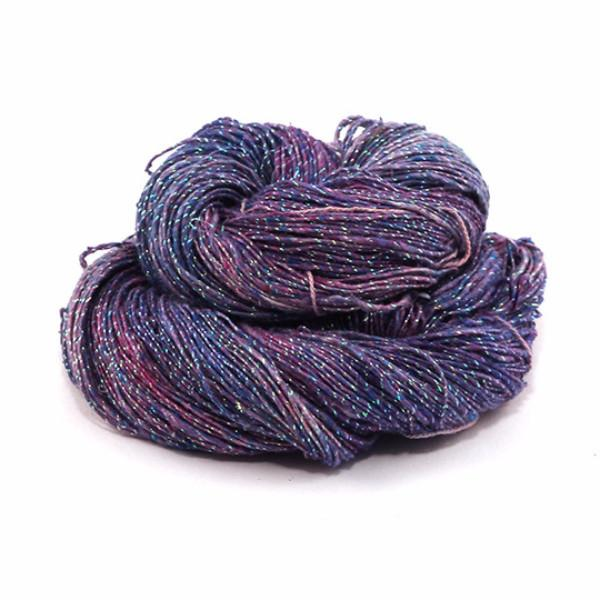 Sparkle Lace Weight Silk Yarn - Tidal Pool