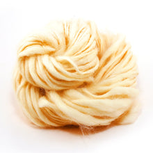 Undyed & Dyeable Yarn - Thick & Thin White Yak