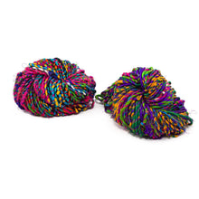 Firecracker Recycled Resolution Silk Yarn - Non-Metallic