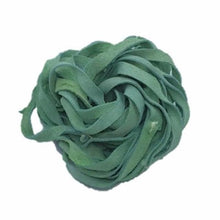 Recycled Suede Ribbon - Green