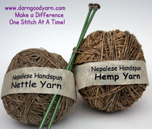 Hemp or Nettle Yarn Lace/Fingering Weight