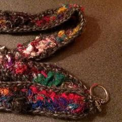 Sari Silk Lanyard Easy Crochet Pattern - Digital Download