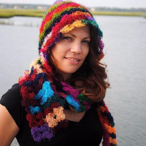 Crochet This: Pixie Hood Scarf: Yarn Plus Pattern Kit!