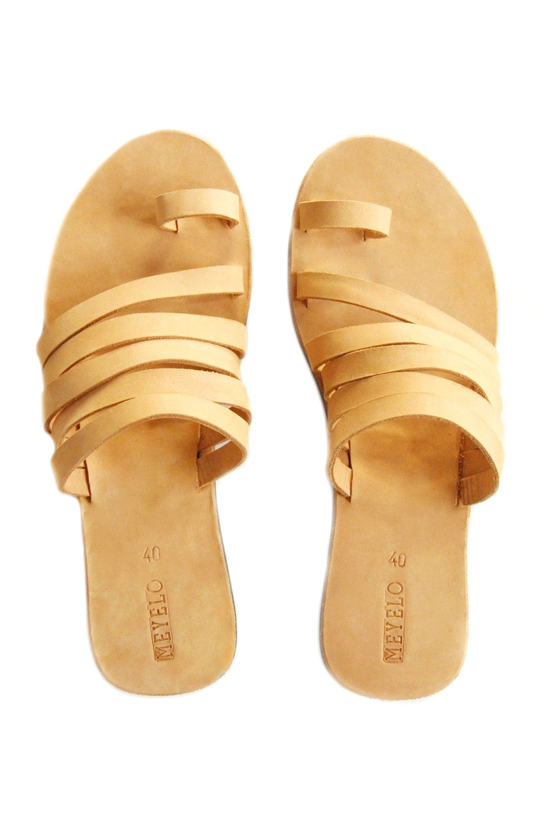 Sekon Nubuck Leather Sandal