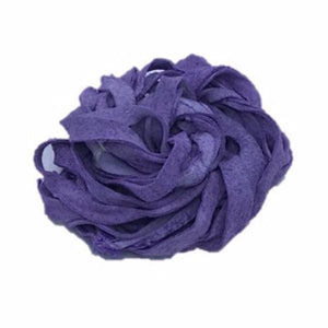 Recycled Suede Ribbon - Purple