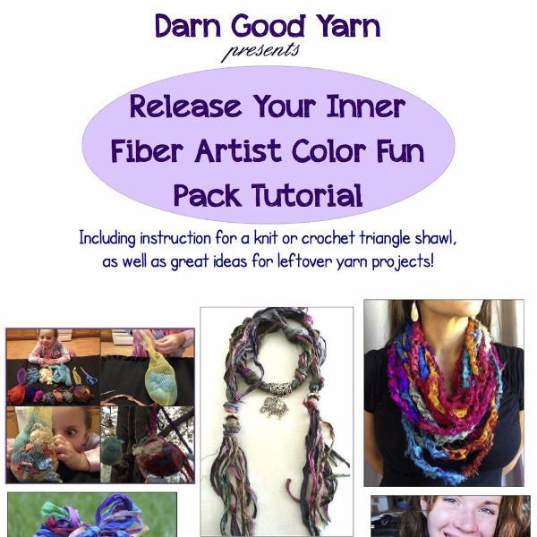 Release Your Inner Fiber Artist Color Fun Pack Tutorial