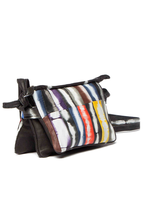 Astor Nappa Leather Multicolor Cross Body Bag