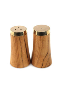 Teak Salt & Pepper Shakers