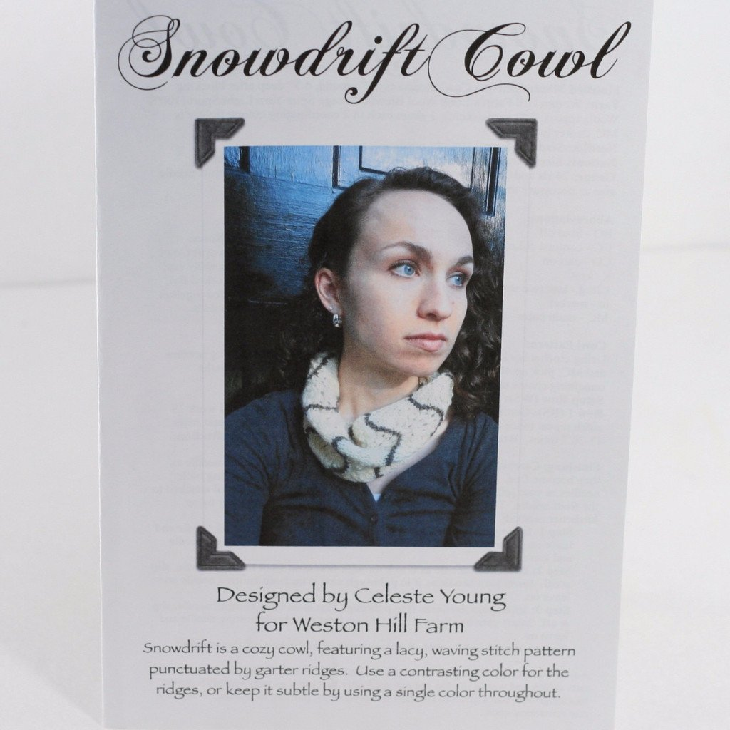 Snowdrift Cowl Pattern by Celeste Young