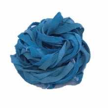 Recycled Suede Ribbon - Turquoise