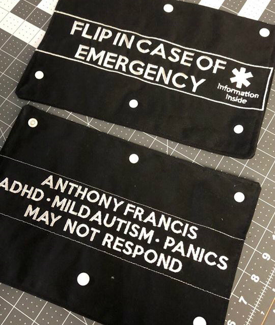 Emergency Seatbelt Covers