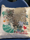 Beautiful Sequence Mermaid Pillow