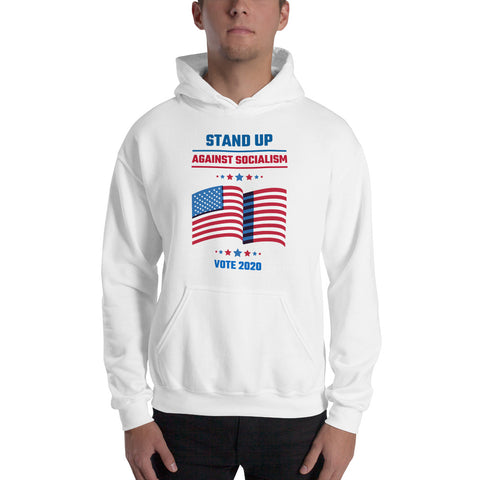 """Stand Up Against Socialism"" Hoodie"