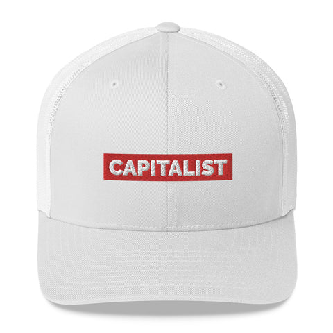 """Capitalist"" Embroidered Hat"
