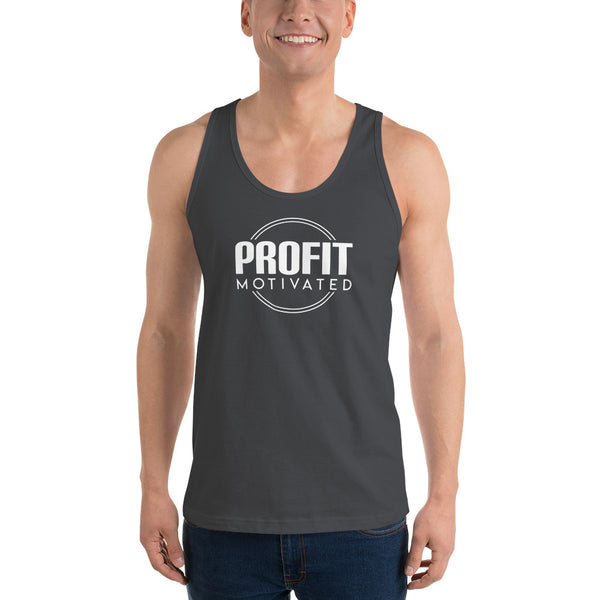 """Profit Motivated"" Classic Tank Top"