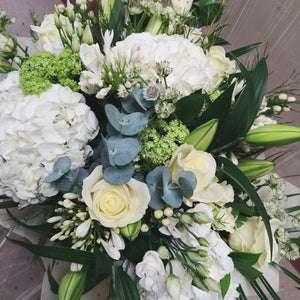Whites & Greens Hand-tied