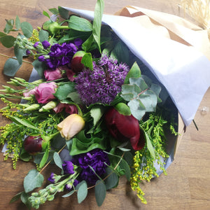 Seasonal Bouquet Kraft style
