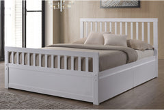 Sleep Design Delamere Wooden Storage Bed Frame With Drawers