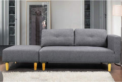 Sleep Design Cavendish Seater Sofa With Stool
