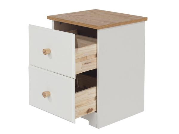 Colorado 2 Drawer Petite Bedside Table