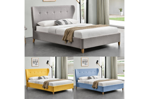 Sleep Design Kensington Fabric Bed Frame