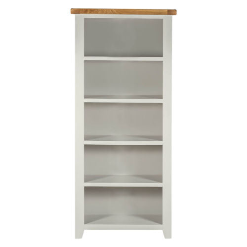 Large Bookcase with 5 Shelves in Grey