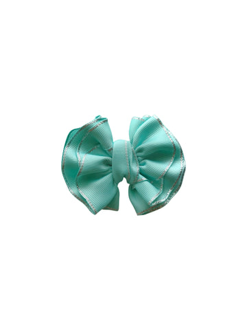 Jazmine Bow Teal
