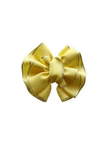 Jazmine Bow Yellow
