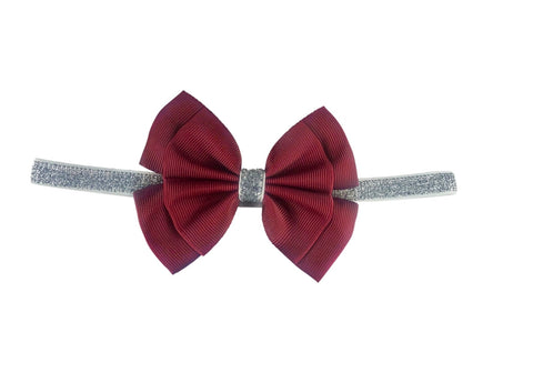 Flossy Bow Red