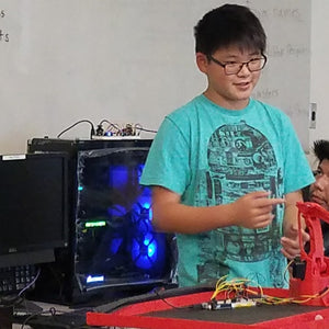 Robotics Engineering High School Summer Academy at IVC-ATEP