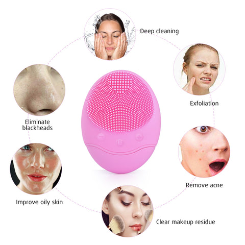 Image of Electric Face Cleansing Brush