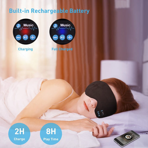 Image of Bluetooth Eye Mask