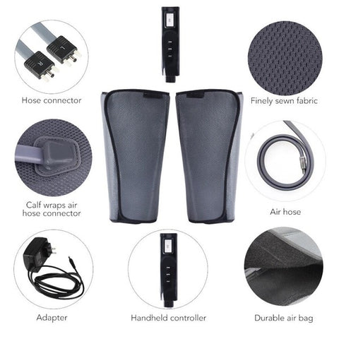 Image of Air Compression Leg Massager